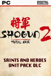 Total War : Shogun 2 - Saints and Heroes Pack DLC